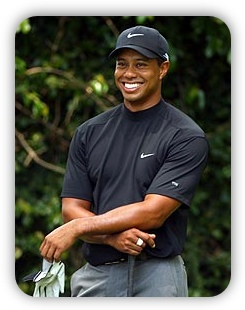 Tiger Woods at Augusta Masters