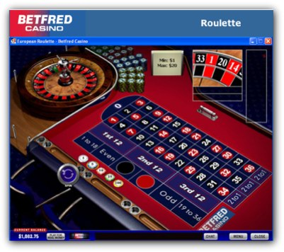 BetFred Casino Casino Blackjack