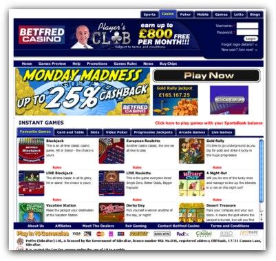 BetFred Casino Slots