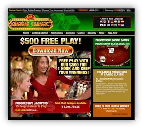 Casino Classic Casino Website