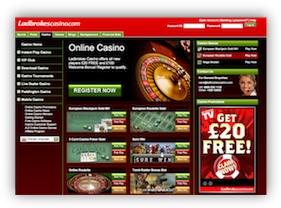 Ladbrokes Casino Website