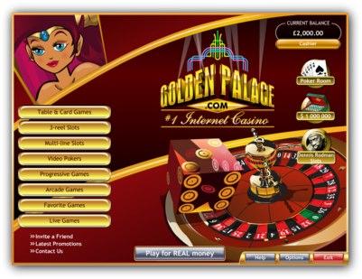 Golden Palace Casino Lobby