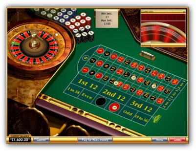 Golden Palace Casino Roulette