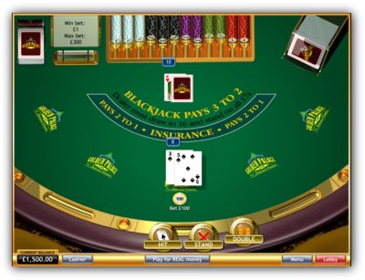 Golden Palace Casino Blackjack