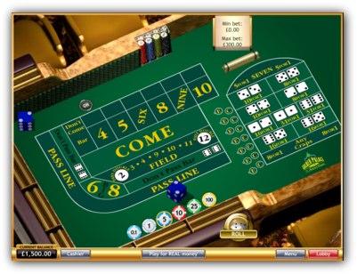 Golden Palace Casino Craps