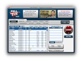 Full Tilt Poker Lobby