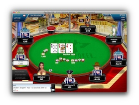 Full Tilt Poker Vegas Table