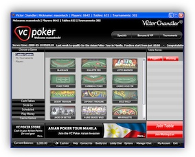 Casino Games at VC Poker