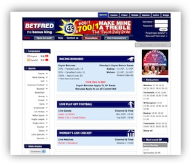 BetFred Website
