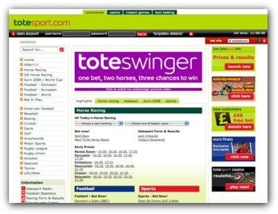 Tote Sport Website