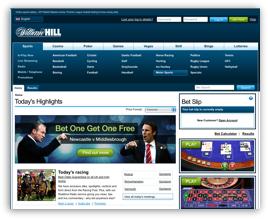 William Hill Website